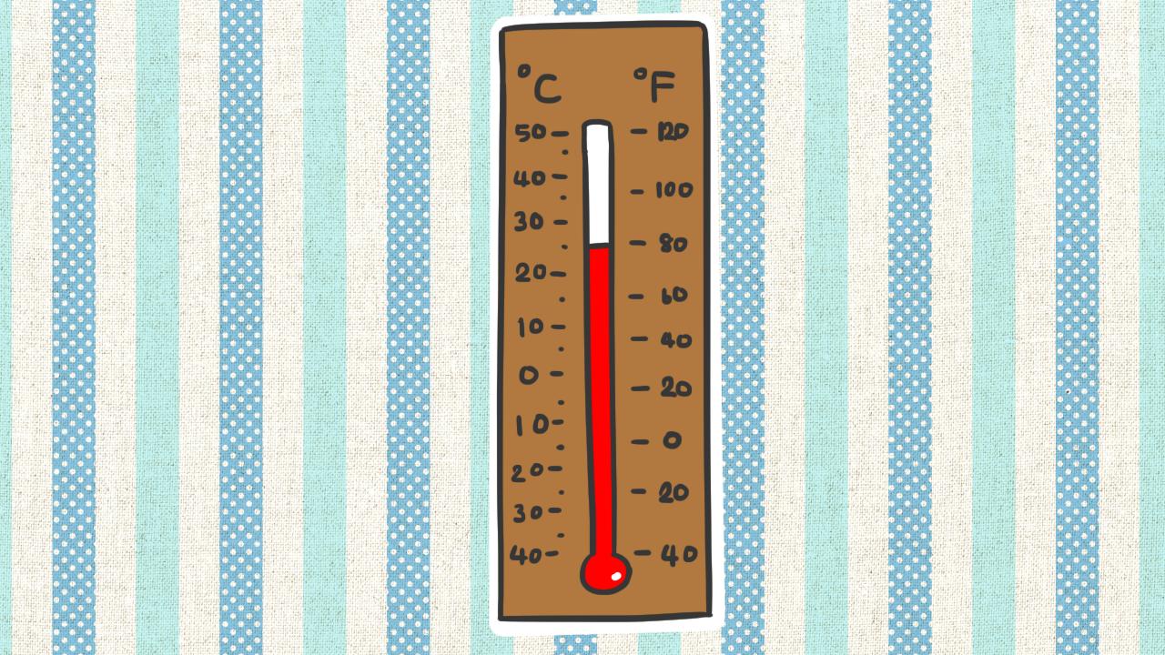 อุณหภูมิ