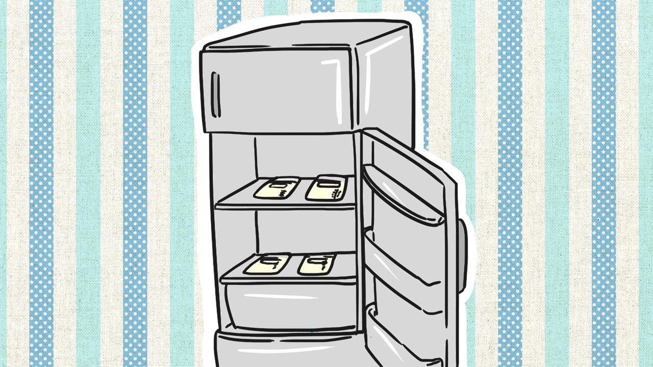 แช่ตู้เย็นช่องปกติ