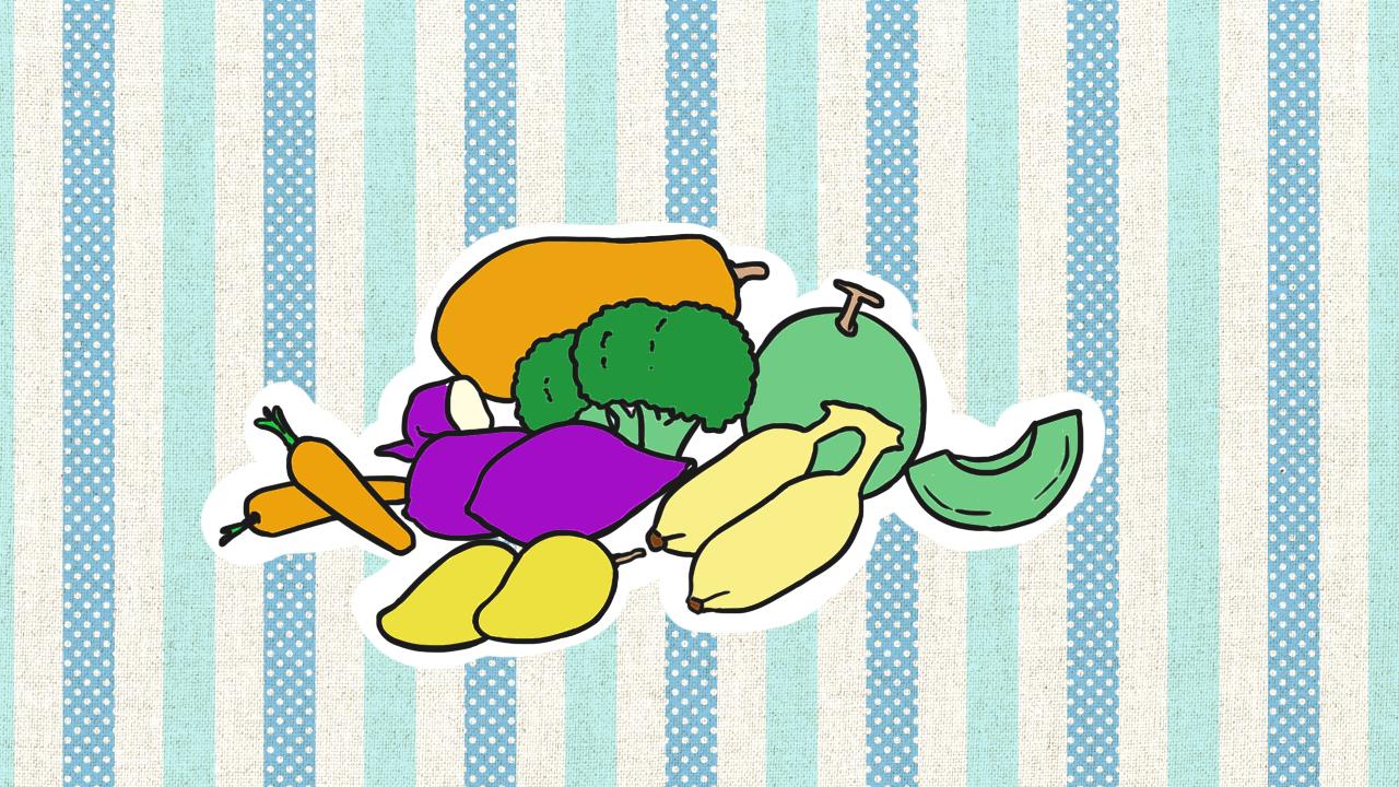 กลุ่มผัก ผลไม้