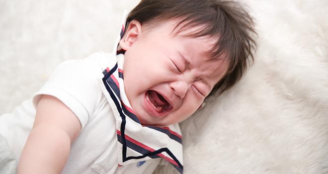 เพราะปวดท้อง ลูกจึงร้องโคลิก