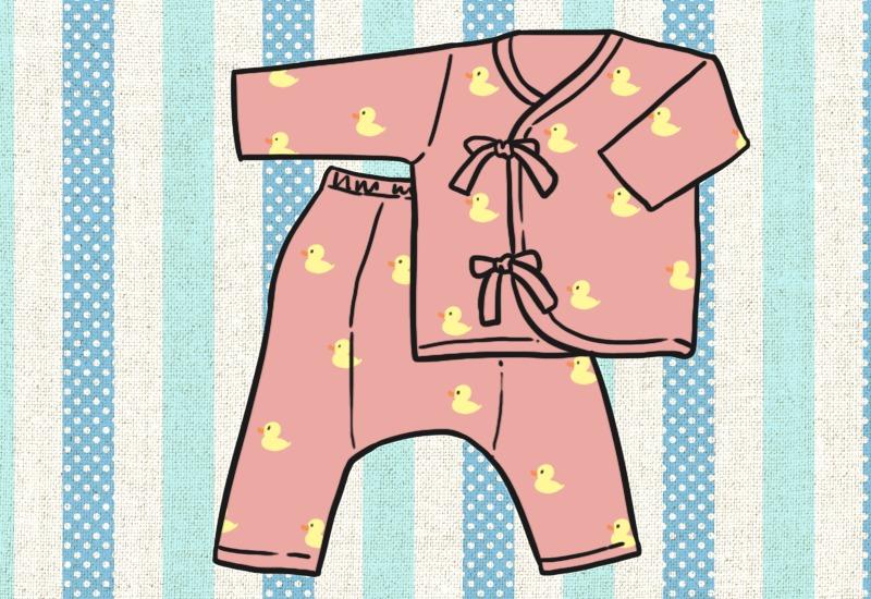 สิ่งของจำเป็นสำหรับทารกแรกเกิดหมวดเครื่องแต่งกาย