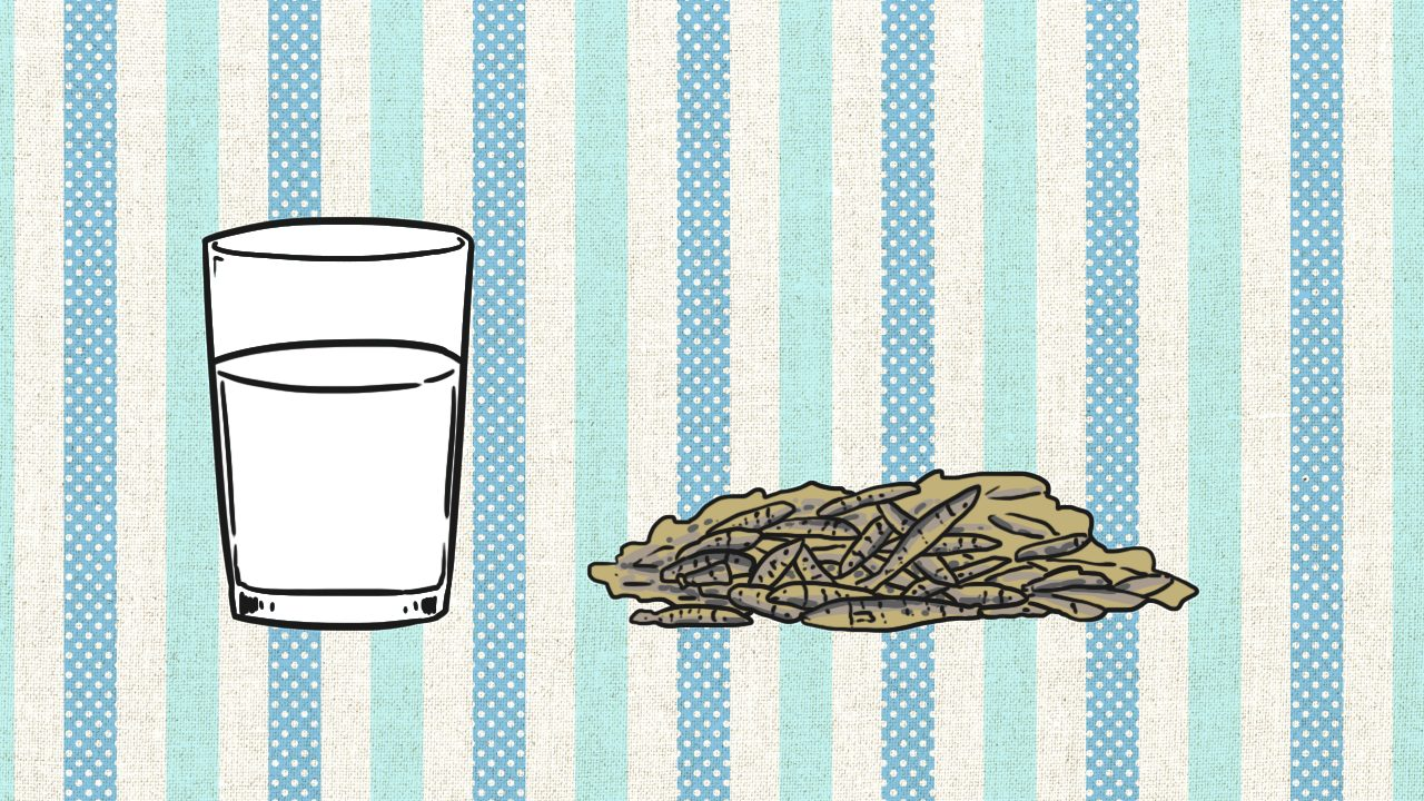 แคลเซียมพบมากในนมและผลิตภัณฑ์จากนมและปลาตัวเล็กๆ