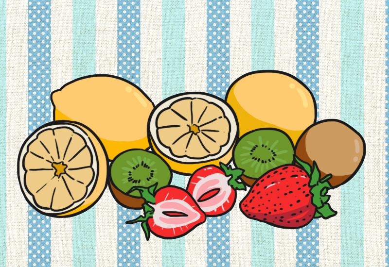 อาหารที่อุดมไปด้วยวิตามินซีและวิตามินดี