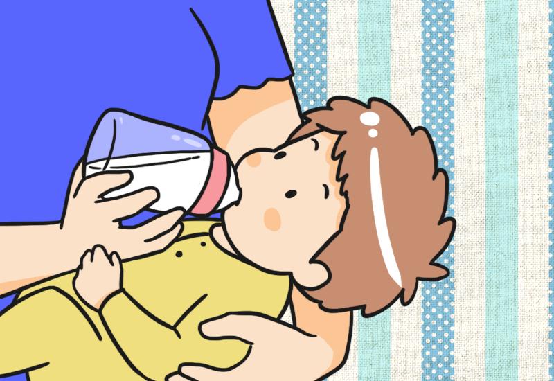 ทารกดื่มนมสต๊อกมากเกินไประหว่างวันจะทำให้ลูกอิ่มมากเกิน