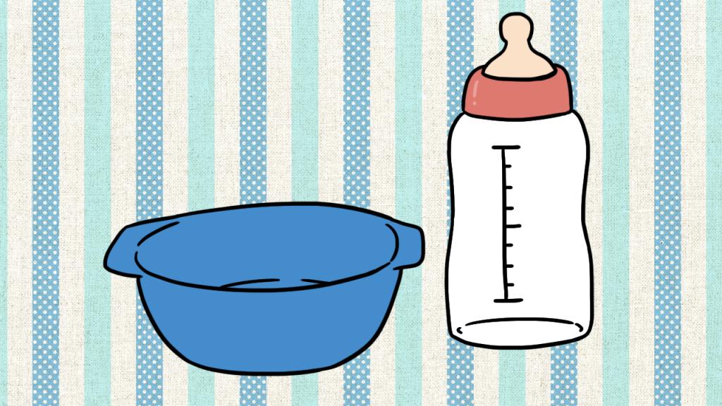 อายุ 9 – 12 เดือนเพิ่มอาหารเสริมเป็น 2 มื้อ