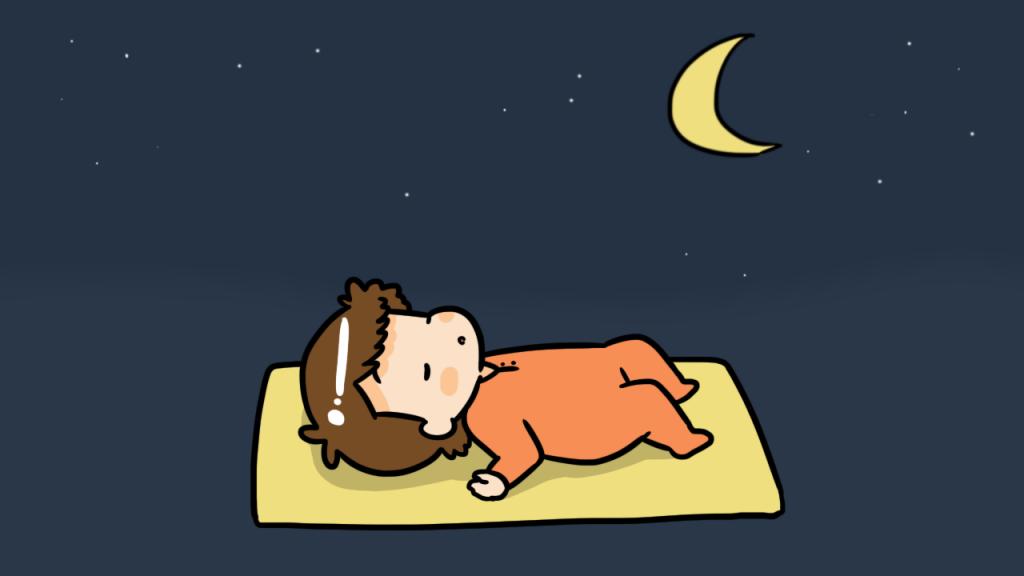 การนอนที่เพียงพอของทารกวัย 6 เดือน