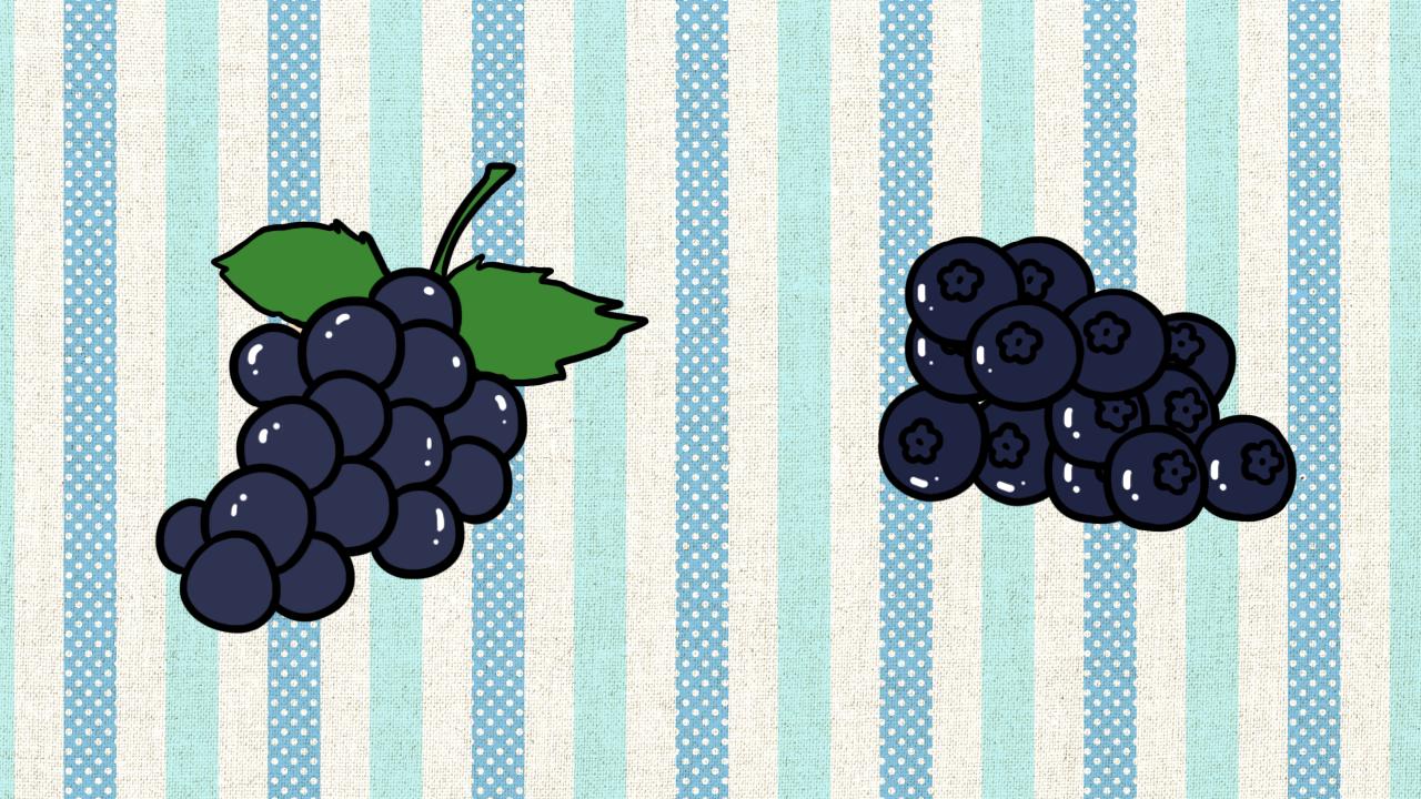 ผลไม้ขนาดเล็กหรือผลไม้ที่มีเม็ดเล็ก