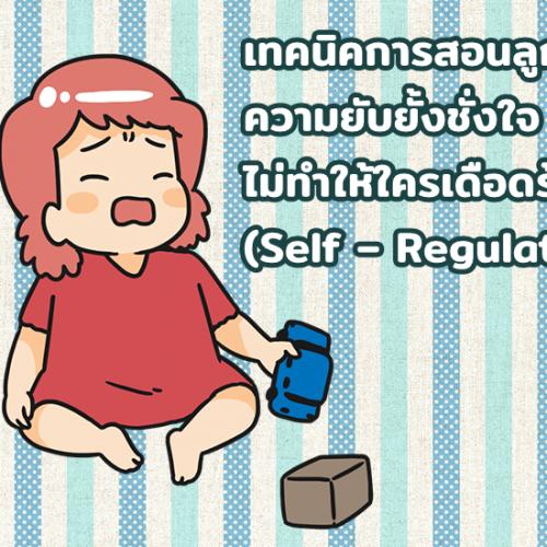 เทคนิคการสอนลูกให้มีความยับยั้งชั่งใจ ไม่ทำให้ใครเดือดร้อน (Self – Regulation)