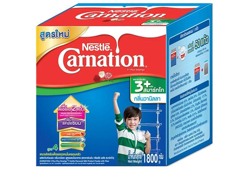 Nestle คาร์เนชัน 1 พลัส สมาร์ทโก รสวนิลลา
