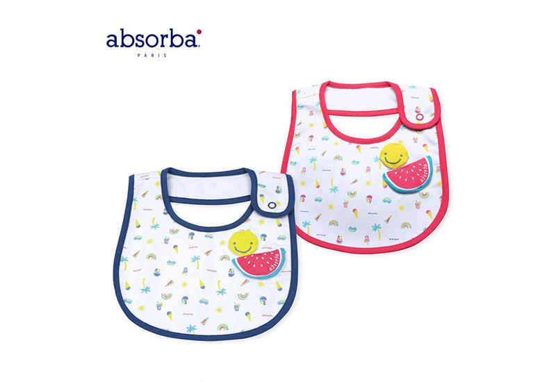 Absorba ผ้ากันเปื้อนเด็กอ่อน คอลเลกชัน Ice Cream