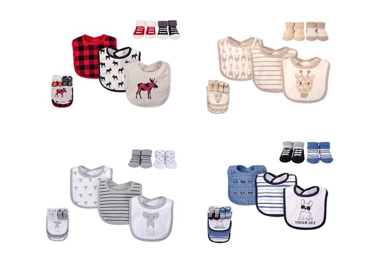 HUDSON BABY ผ้ากันเปื้อนผ้าฝ้าย 100% 00510