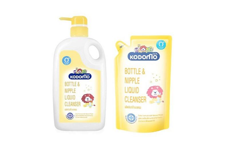 KODOMO น้ำยาล้างขวดนม สูตร Extra Formula with Natural Power